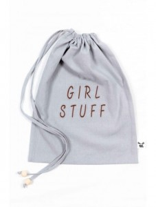 Malomi Kids - Woreczek Girl Stuff - Grey