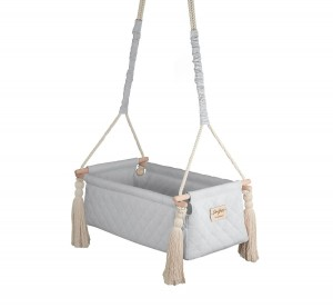 Baby Steps - Kołyska NewBorn Swing - Gray