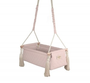 Baby Steps - Kołyska NewBorn Swing - Soft Pink